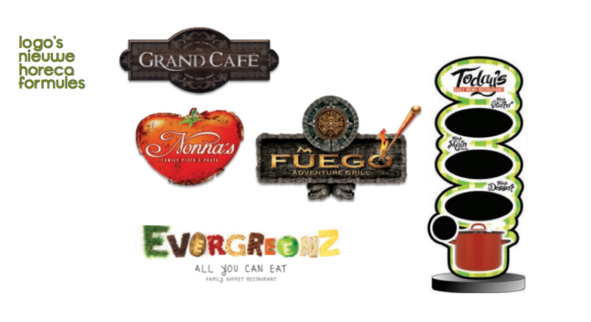 Deze nieuwe logo's sieren de Vlaamse horeca-formules!