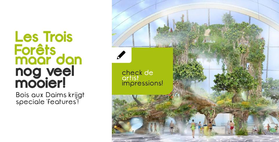 Hoe Bois aux Daims nu precies gaat worden | Met artist impressions én nieuwe bouwfoto's!