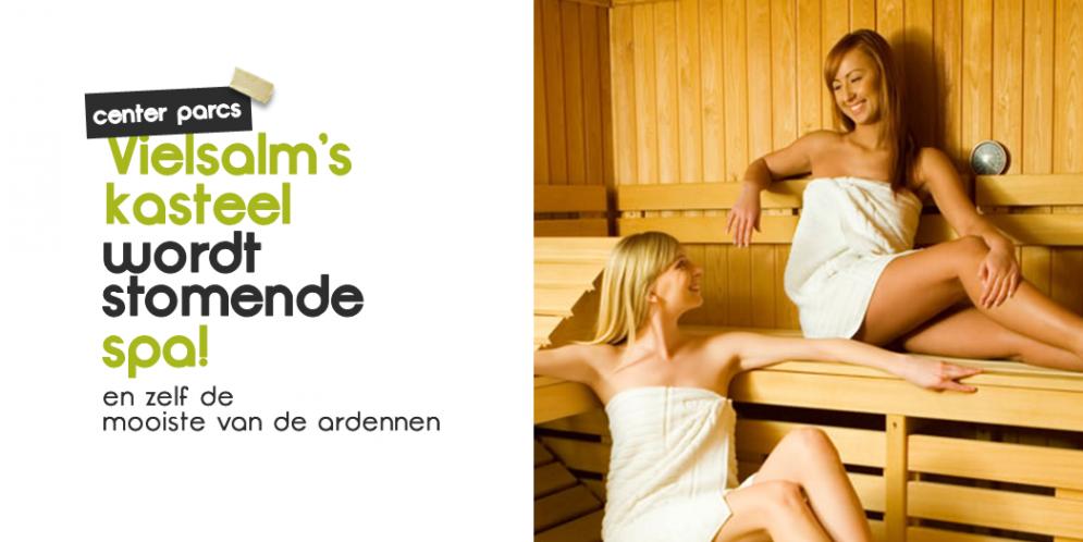 Center Parcs Ardennen' nieuwe Wellness moet de mooiste van de Ardennen worden!
