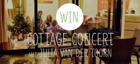 Win een weekend weg met een concert in je cottage