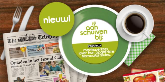 Aanschuiven bij Angelique, medewerker van het Grand Café op De Huttenheugte!