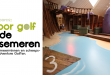 Nieuwe Indoor Minigolf in de Action Factory op Center Parcs De Vossemeren