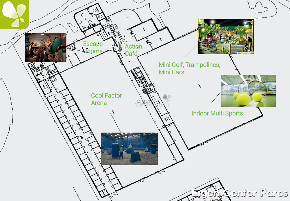 plattegrond action factory heijderbos